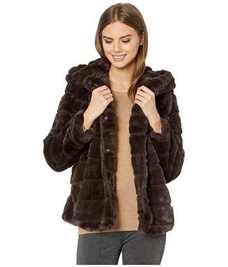 Apparis Goldie 3 Hooded Faux Fur Coat