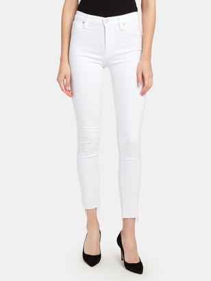 Hudson Barbara High Rise Skinny Ankle Jeans