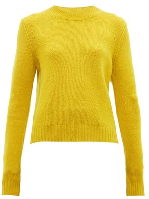 Bottega Veneta Exaggerated-sleeve Cashmere-blend Sweater - Yellow