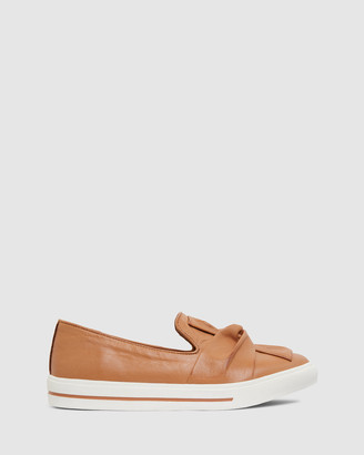 Sandler - Women's Brown Lifestyle Sneakers - Talia - Size One Size, 37 at The Iconic