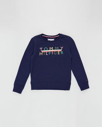 Tommy Hilfiger Iconic Logo Crew Sweatshirt - Teens