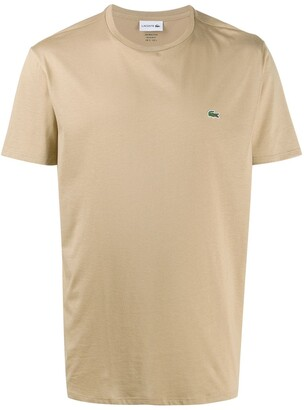 Lacoste logo embroidered T-shirt