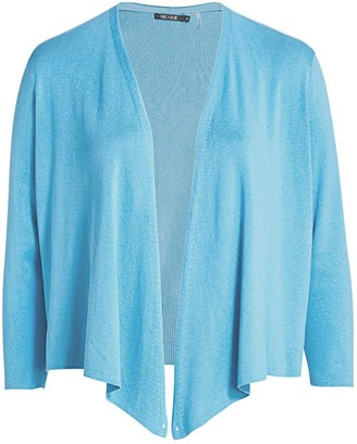 Nic + Zoe, Plus Size 4-Way Cardigan