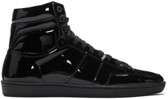 Saint Laurent Black Court Classic SL/10H Sneakers
