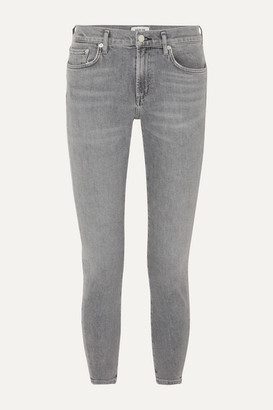AGOLDE Toni Mid-rise Straight-leg Jeans - Gray