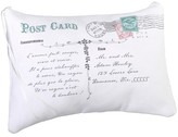 Lillian Rose White Canvas Ring Bearer Pillow