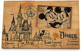Disney Fantasyland Castle Blueprint Wood Photo Frame - 4'' x 6''