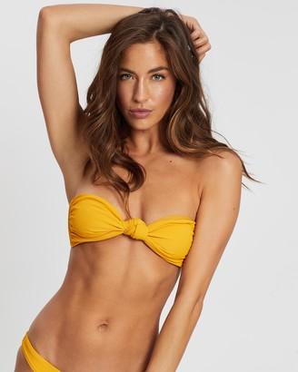 Midnight Swimwear Sunset Bandeau Bikini Top