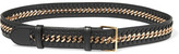 Stella McCartney Falabella Faux Leather Belt - Black