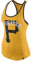 Nike Women's Pittsburgh Pirates Marled Racer Tank