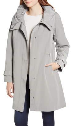 Gallery Water Repellent Hooded Raincoat