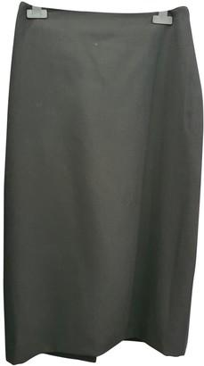 Jean Paul Gaultier Black Wool Skirt for Women Vintage