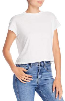 Comune Sunset Cropped Cotton Tee
