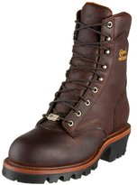 """Chippewa Men's 9"""" Waterproof Insulated Steel Toe EH 25420 Logger Boot"""