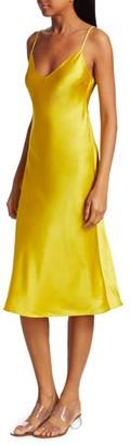 Dannijo Silk Midi Slip Dress