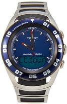 Tissot T05642 Silver-Tone & Blue Watch