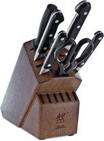 Zwilling J.A. Henckels Pro 7-Pc. Knife & Block Set