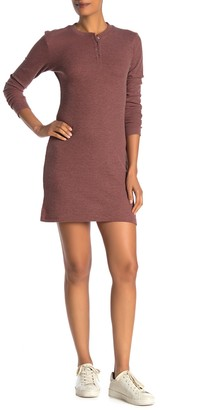 Alternative Thermal Long Sleeve Henley Dress