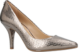MICHAEL Michael Kors Flex High Heeled Stiletto Court Shoes, Silver