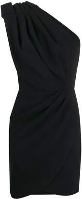IRO pleated one shoulder dress