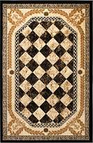 Summit XZ-AG3Y-1PRR New 33 Area Rug Black Diamond Modern Abstract Many Aprx Sizes Available , 2 X 3 ACTUAL IS 22'' X 35''