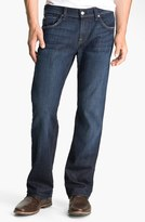 7 For All Mankind 'Austyn' Relaxed Straight Leg Jeans (Los Angeles Dark) (Tall)
