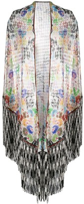 Missoni Open-Knit Tasselled Shawl