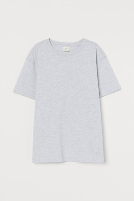 H&M Straight-cut T-shirt
