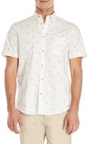 Ben Sherman Short Sleeve Palm Tree Printed Shirt