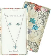 Vera Bradley Sparkling Star Earrings Necklace Set Jewelry Sets