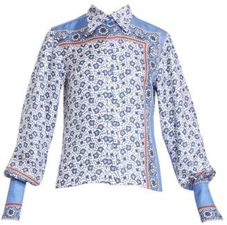 Chloé Bandana Print Silk Shirt