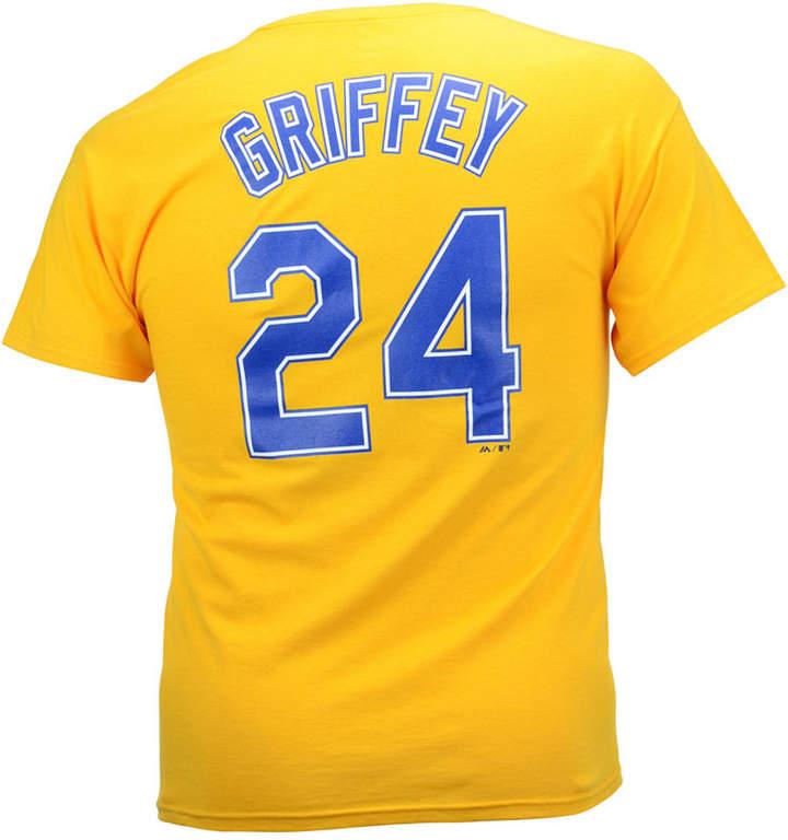 Majestic Men Ken Griffey Jr. Seattle Mariners Cooperstown Player T-Shirt