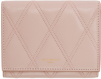 Givenchy Pink GV3 Trifold Wallet