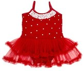 Infant Girl's Masalababy 'Audrey Ballerina' Skirted Bodysuit