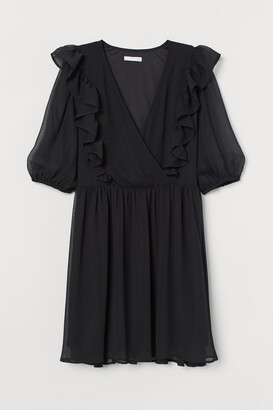 H&M Ruffle-trimmed Dress