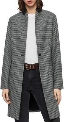 AllSaints Leni Houndstooth Coat