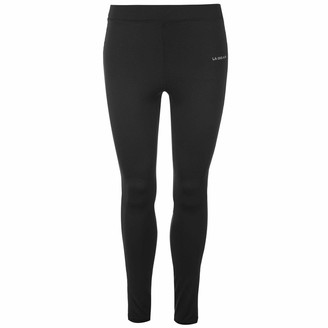 L.A. Gear Womens Leggings Performance Tights Pants Trousers Bottoms Lightweight Black (M) 12