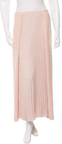 Cédric Charlier Pleated Midi Skirt