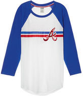 PINK Atlanta Braves Bling Perfect Baseball Tee