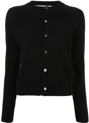 Comme des Garcons Knitted Buttoned Cardigan