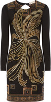 Emilio Pucci Embellished stretch-jersey dress