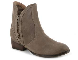 Seychelles Lucky Penny Suede Western Bootie
