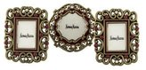 Jay Strongwater Set of Three Miniature Picture Frames