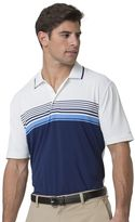 Chaps Men's Classic-Fit Chest-Striped Performance Golf Polo