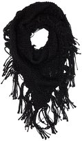 Charlotte Russe Chunky Open Knit Wrap Scarf