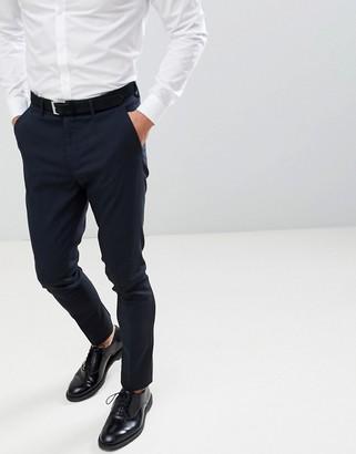 New Look skinny suit pants in navy