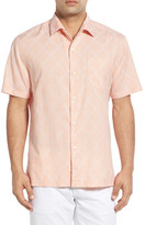 Tommy Bahama Checks & Caicos Classic Fit Camp Shirt