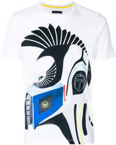 Frankie Morello graphic zebra T-shirt