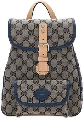 Gucci Gg Supreme Canvas Backpacks
