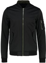 Criminal Damage Foam Bomber Jacket Black/khaki